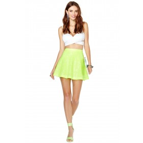 Tianna Box Pleat Colour Pop