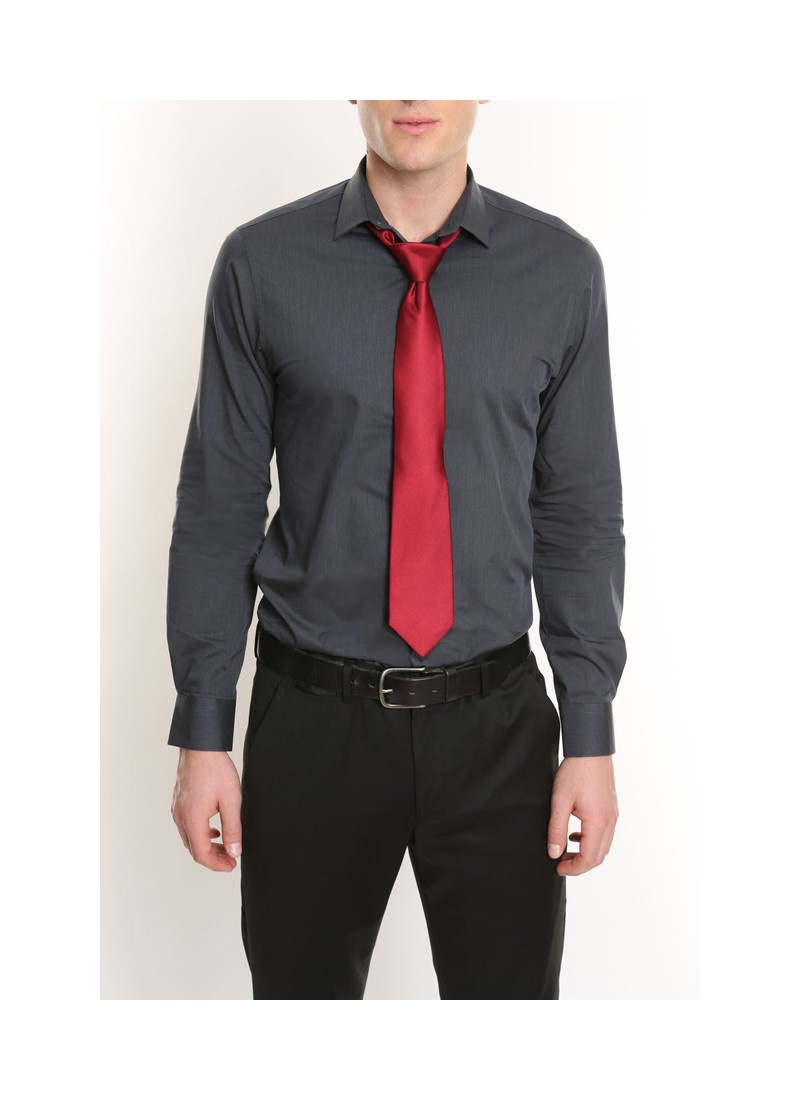 Slim-fit Dobby Oxford Shirt