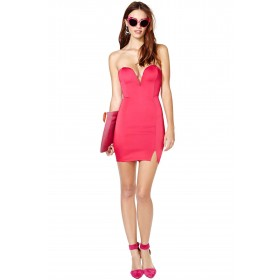 Annabelle Lace Panel Bodycon