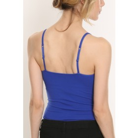 Stretch Cotton Camisole