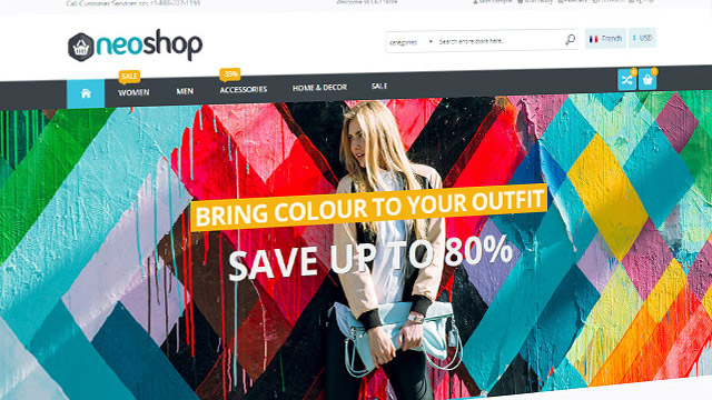 Powerful Magento Theme
